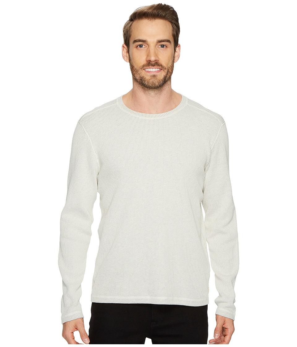 Agave Denim - Pearl Long Sleeve Crew Seersucker Shirt