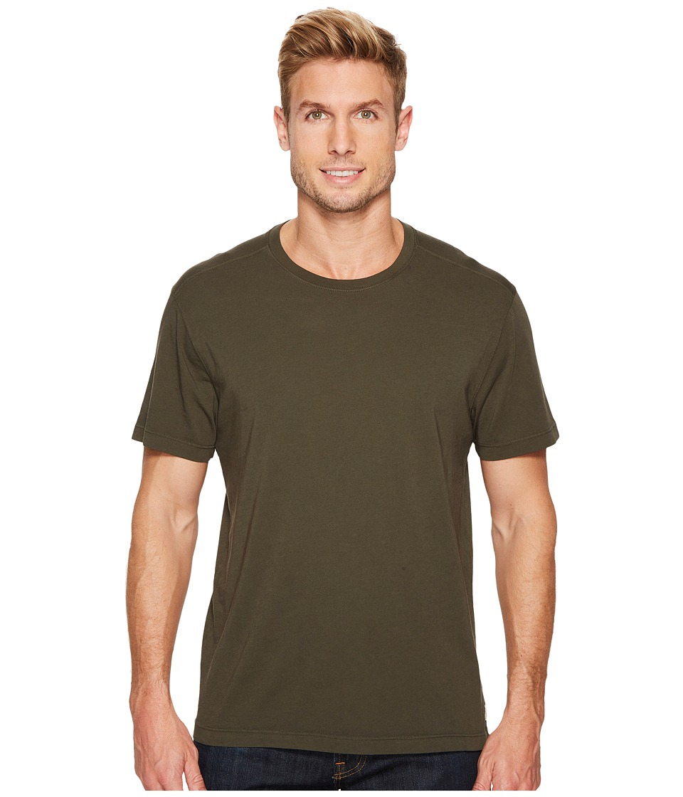 Agave Denim Agave Supima Crew Neck Short Sleeve Tee (Forest Night) Men