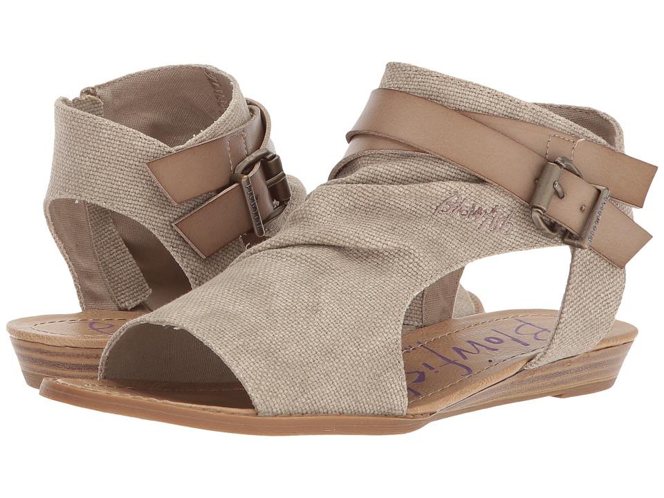 Blowfish Balla (Light Taupe Rancher Canvas/Dyecut PU) Women's Shoes