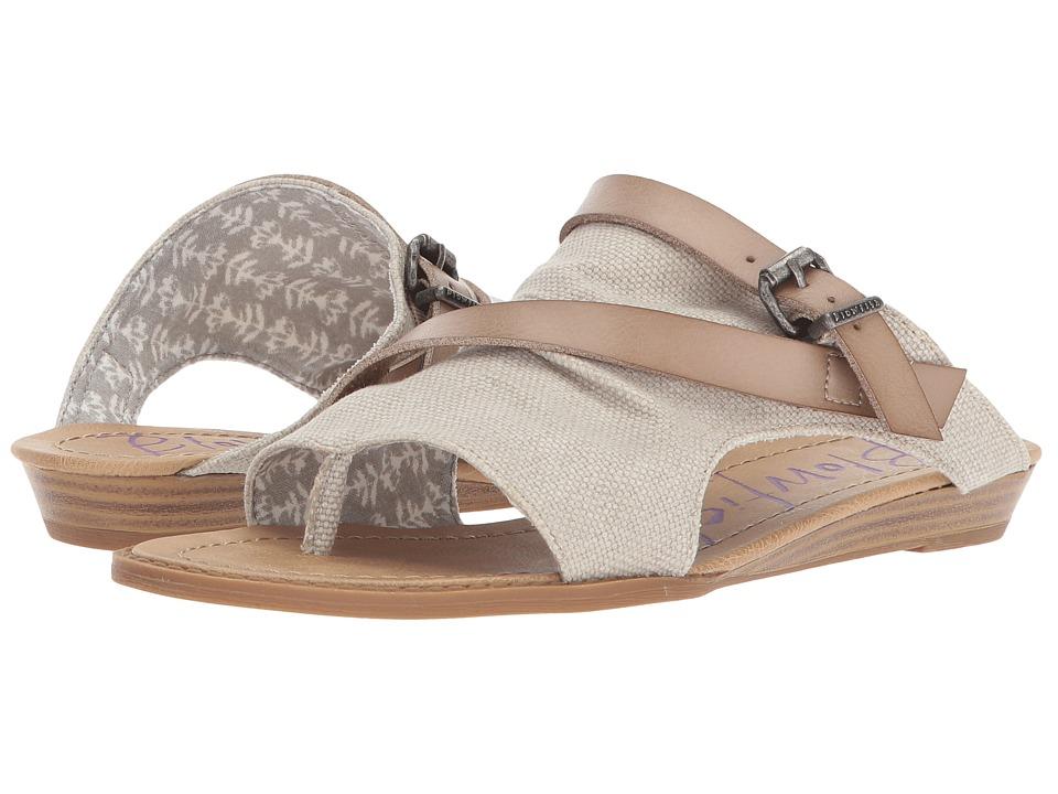 Blowfish - Barria (Birch Rancher Canvas/Dyecut PU) Women's Sandals
