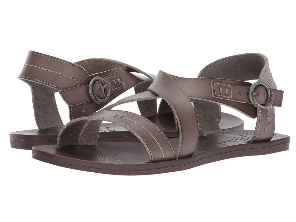 Blowfish - Drum (Steel Grey Dyecut PU) Women's Sandals