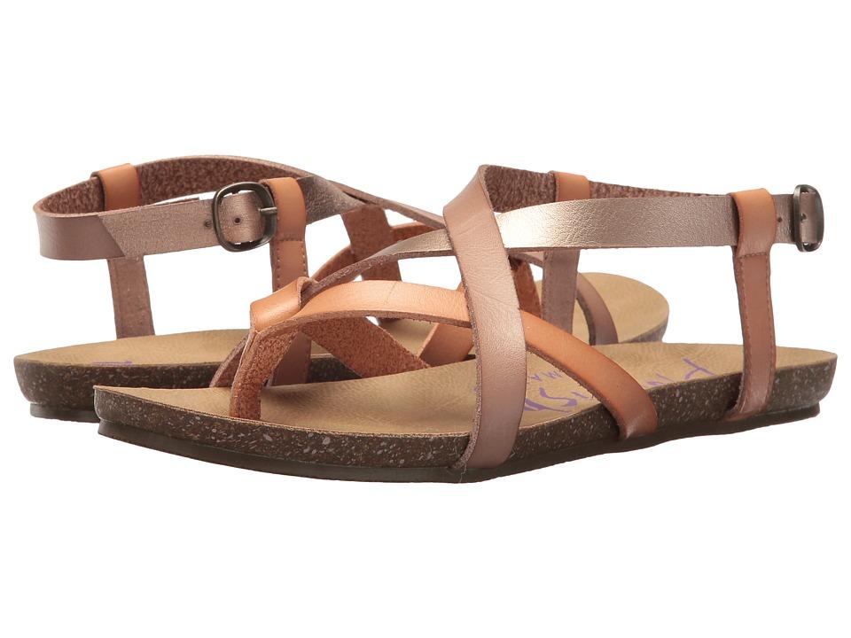 Blowfish - Granola (Blonde/Pearl Rose Gold/Blush Dyecut) Womens Sandals