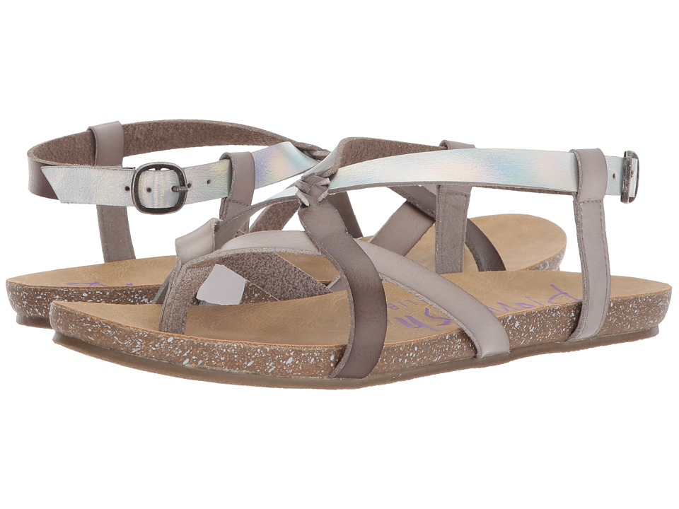 Blowfish - Granola-B (Ash/Steel Grey Dyecut/Lunar Pisa) Women's Sandals