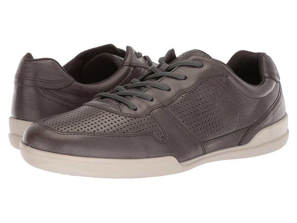ECCO Enrico Perf Sneaker (Titanium) Men