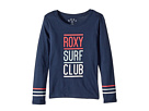 Roxy Kids Lost in Dream Roxy Surf Club Long Sleeve Tee (Big Kids)