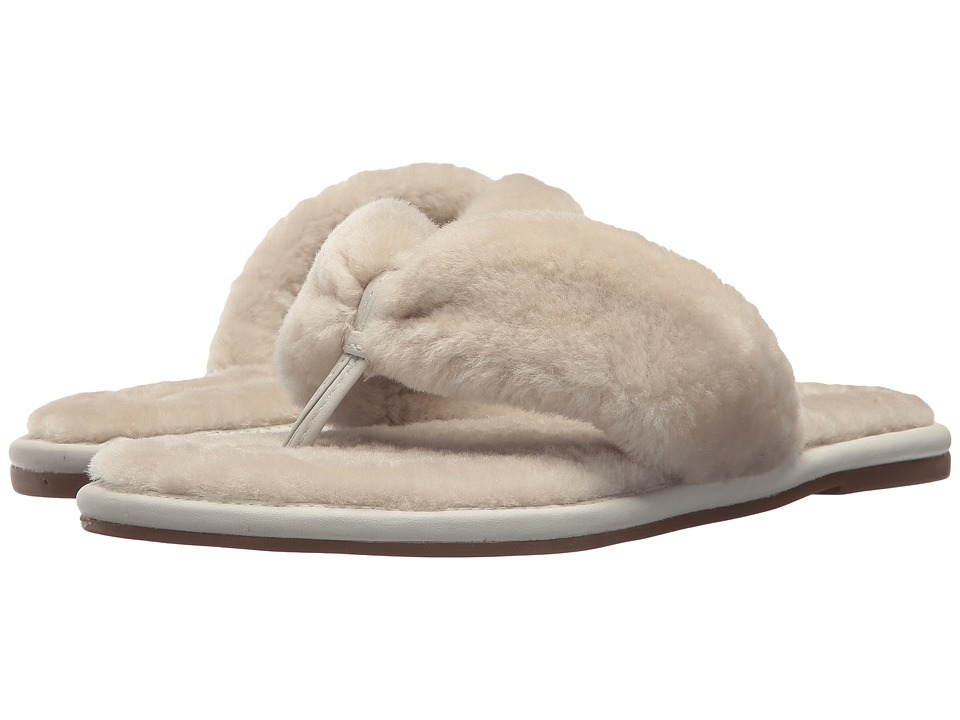 Bernardo - Miami Shearling (Natural Shearling) Womens Slippers