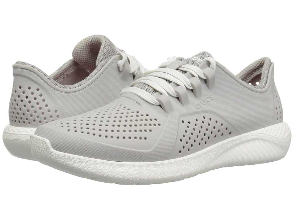 Crocs LiteRide Pacer (Pearl White) Women's Shoes