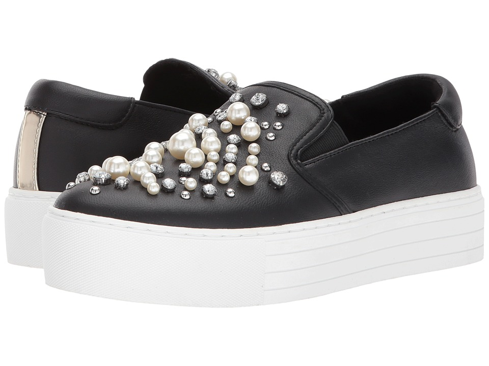 Kenneth Cole New York Ashby Pearl (Black Leather) Women