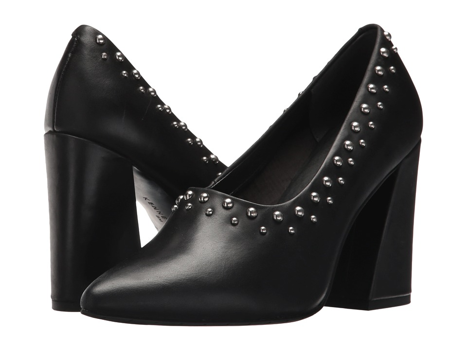 Kenneth Cole New York Gail 2 (Black Leather) Women