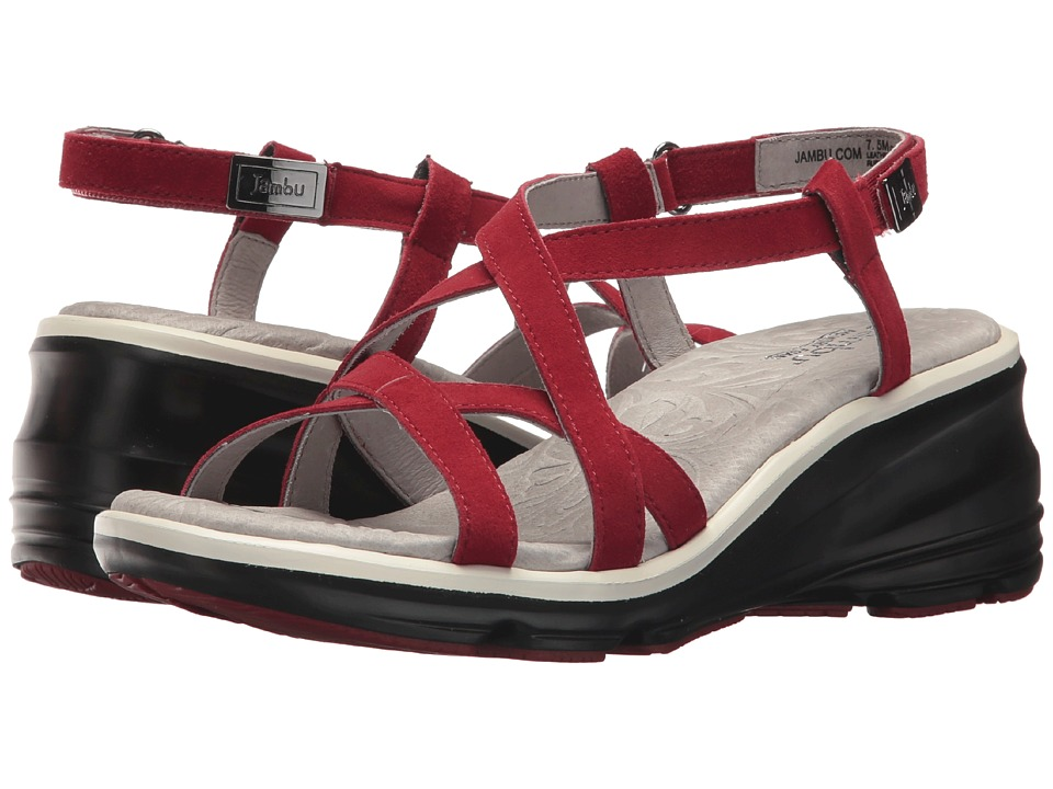 Jambu - Ginger (Red) Women's Sandals