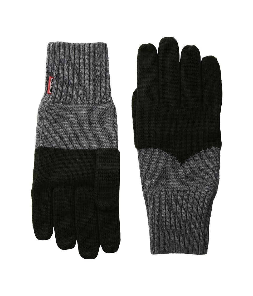 Hunter Original Moustache Gloves (Dark Olive/Grey) Extreme Cold Weather Gloves