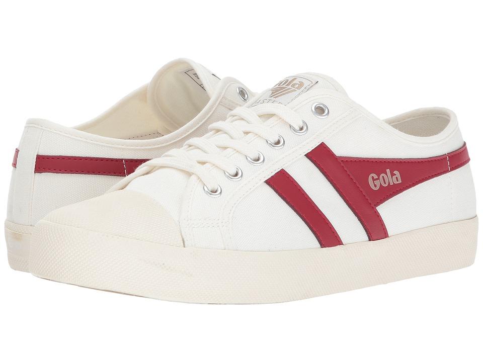 Gola Coaster (Off-White/Deep Red) Men
