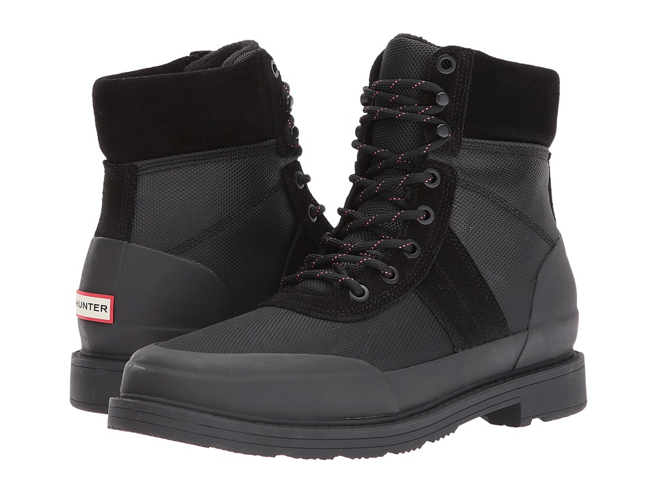Hunter Original Insulated Commando Boot (Black) Women
