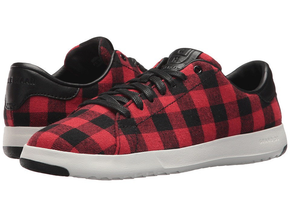Cole Haan Grandpro Tennis (Buffalo Plaid) Women
