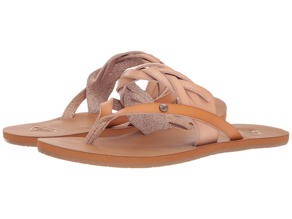 Roxy - Evelyn (Natural 1) Women's Sandals
