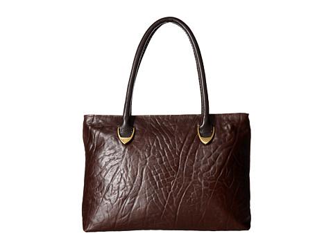 Scully Calico Handbag - Brown