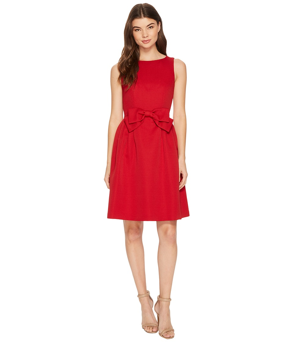 Tahari by ASL - Faille Bow-Front Dress (Cherry Red) Women...