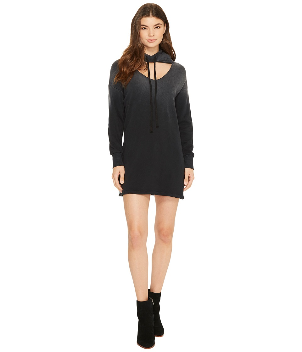 LNA Morris Hoodie Dress (Black) Women