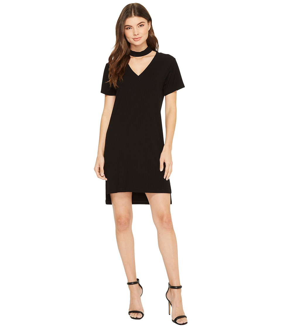 LNA Klassen Choker Dress (Black) Women