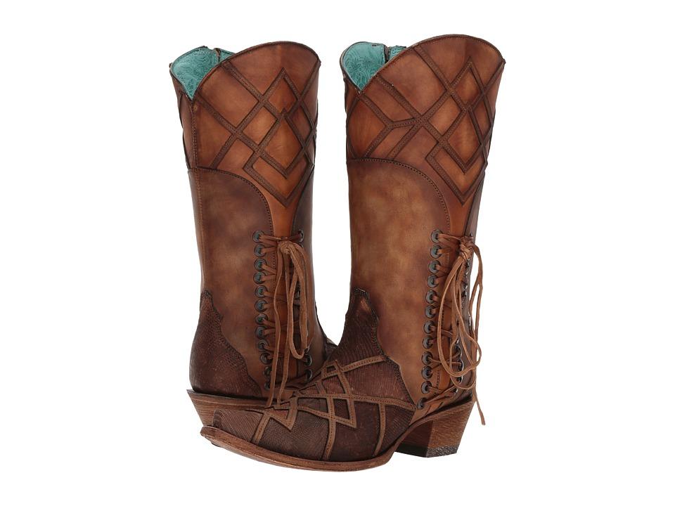Corral Boots C3189 (Honey) Cowboy Boots