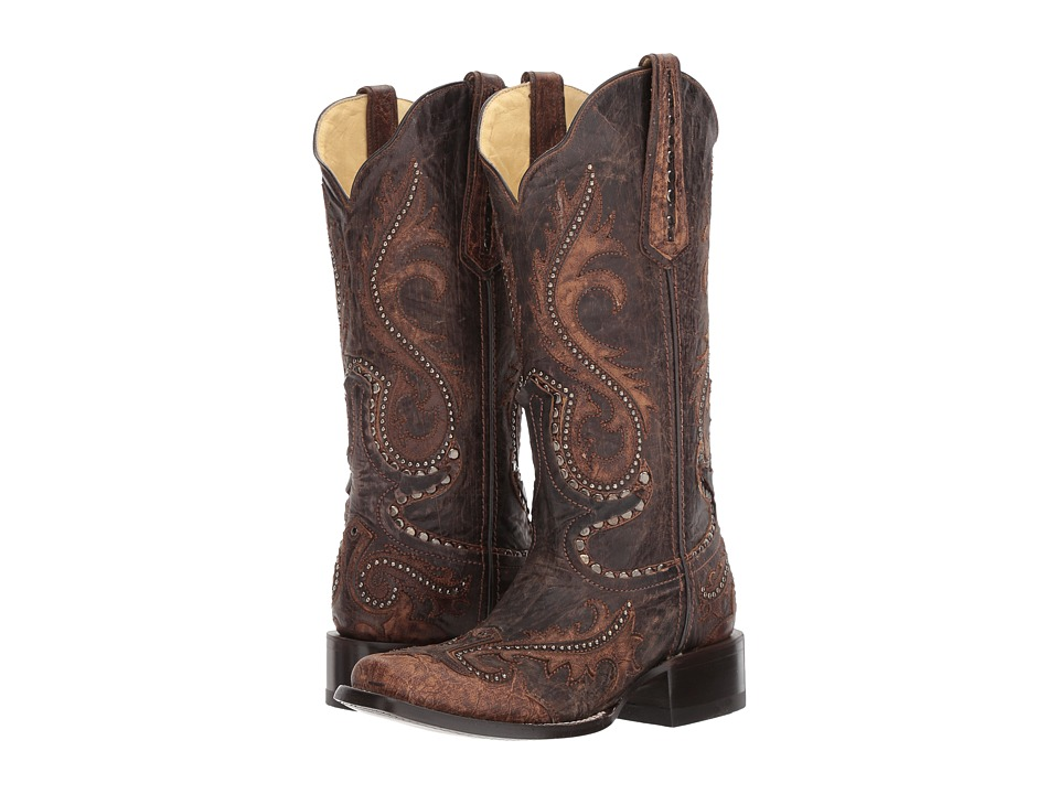 Corral Boots G1349 (Tabaco) Cowboy Boots