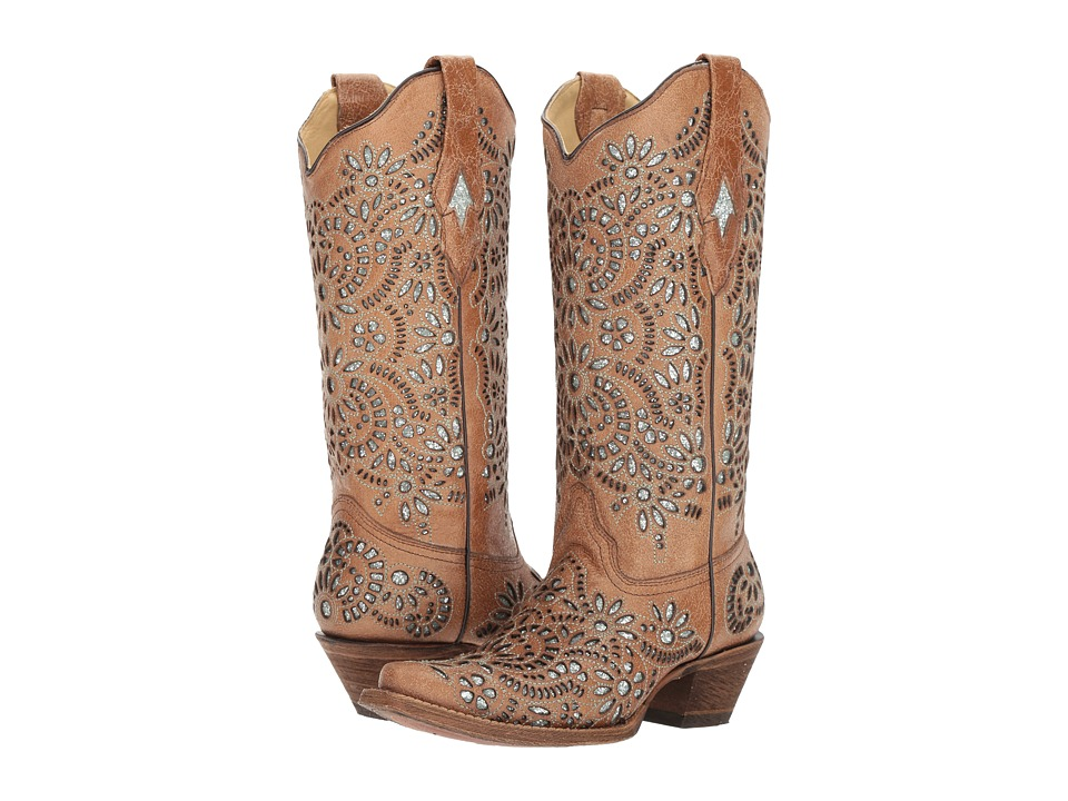 Corral Boots - A3352 (Brown) Cowboy Boots