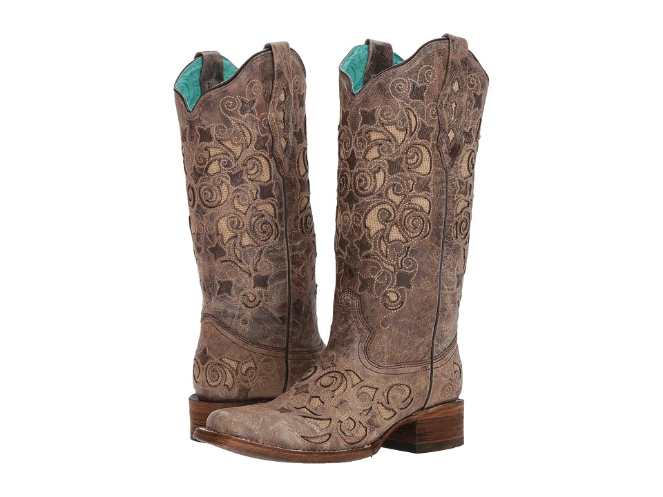 Corral Boots - A3227 (Brown) Cowboy Boots