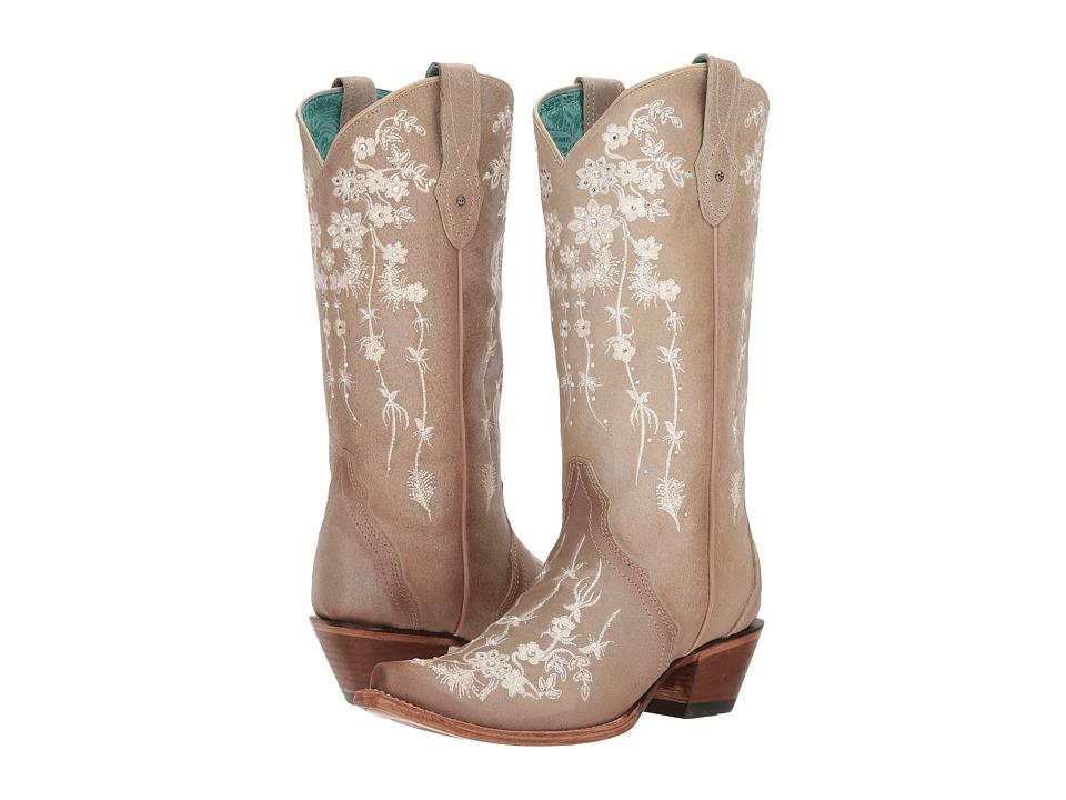 Corral Boots - C3178 (Bone) Cowboy Boots