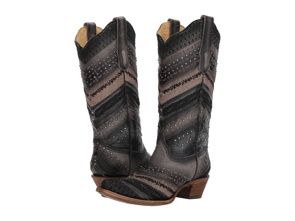 Corral Boots A3355 (Grey) Cowboy Boots