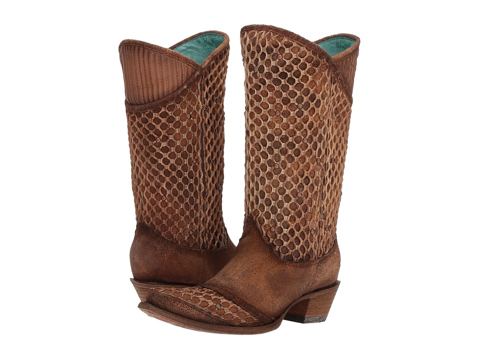 Corral Boots C3182 (Camel) Cowboy Boots