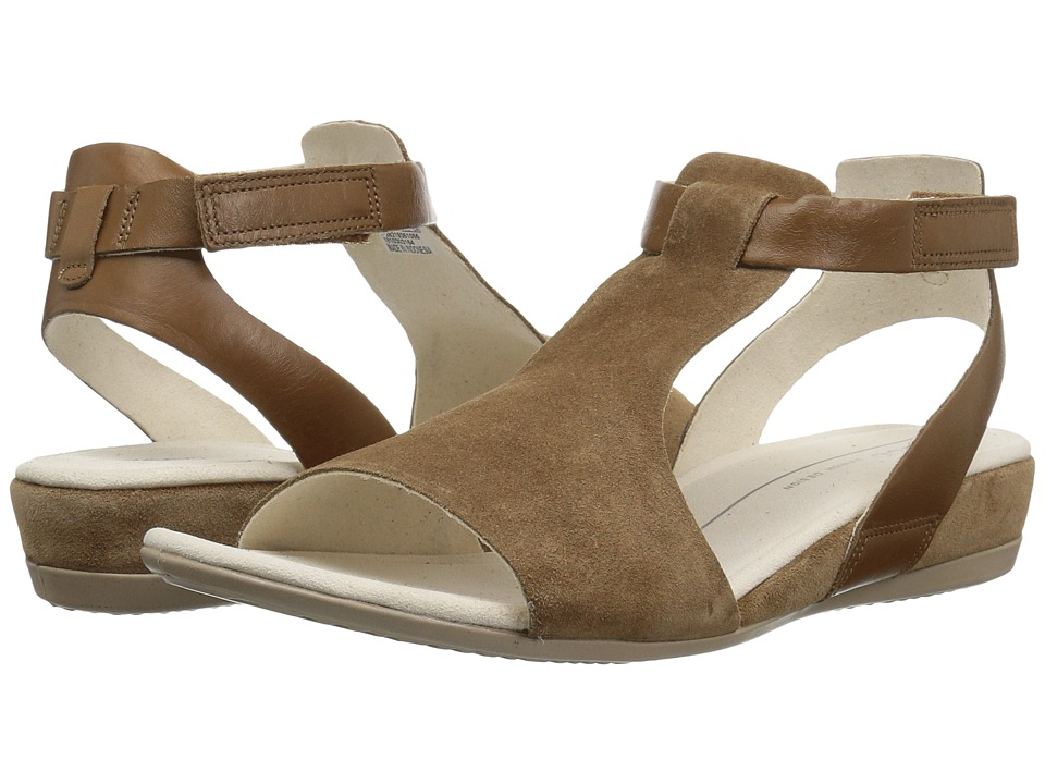 ECCO Touch 25 Ankle Sandal (Camel/Camel) Sandals