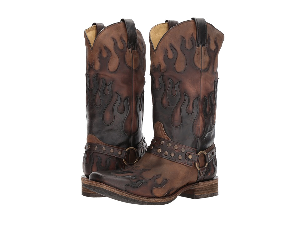 Corral Boots - A3365 (Taupe) Cowboy Boots