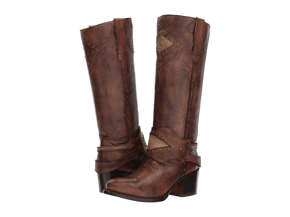 Corral Boots - E1208 (Brown) Cowboy Boots