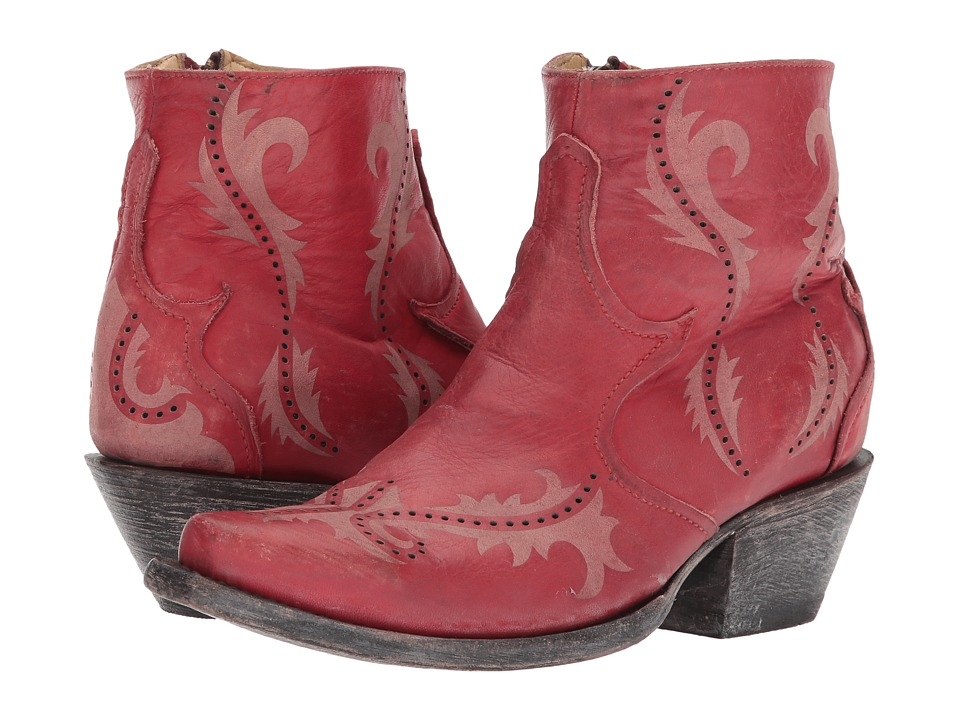 Corral Boots - G1379 (Red) Cowboy Boots