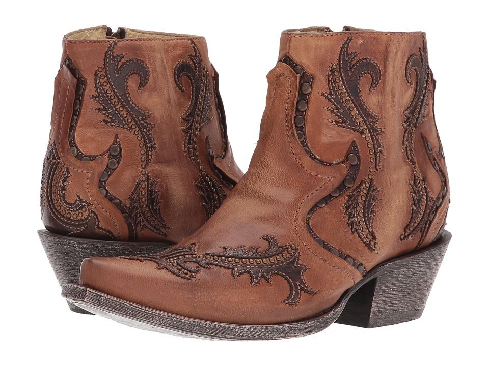 Corral Boots - G1382 (Tan) Cowboy Boots