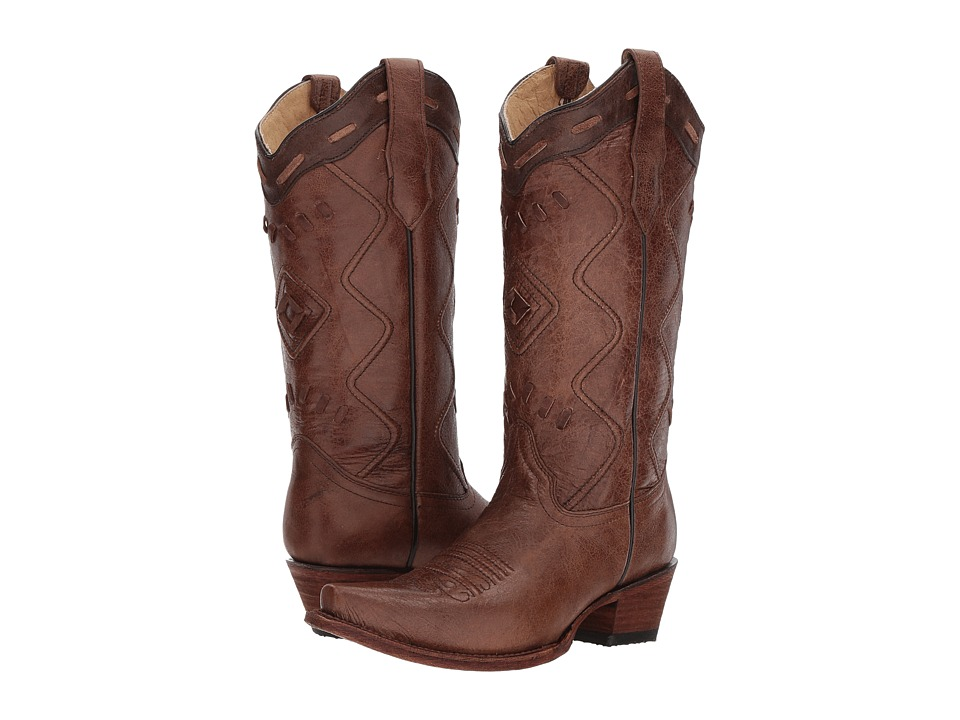 Corral Boots - L5306 (Brown) Cowboy Boots