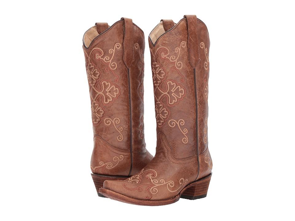 Corral Boots - L5279 (Honey) Cowboy Boots