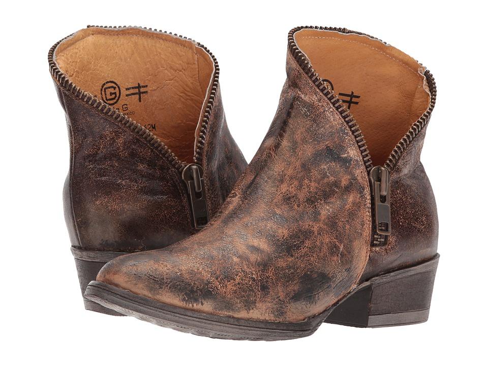 Corral Boots - E1217 (Golden) Cowboy Boots