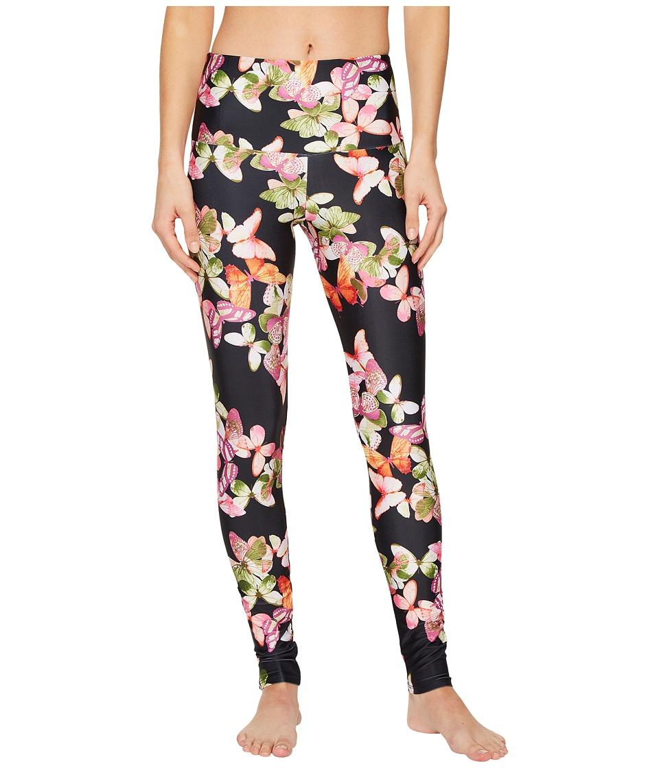 Onzie High Rise Leggings (Butterflies) Women