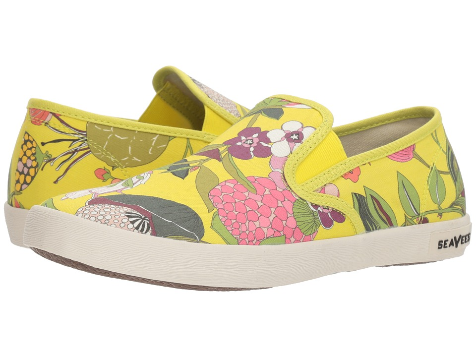 SeaVees Baja Slip-On Trina Turk (Green Secret Garden) Slip-On Shoes