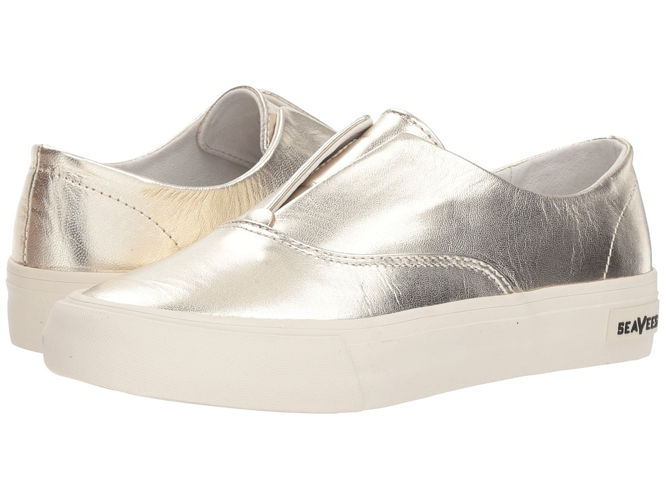 SeaVees Sunset Strip Sneaker (Gold) Women's Shoes