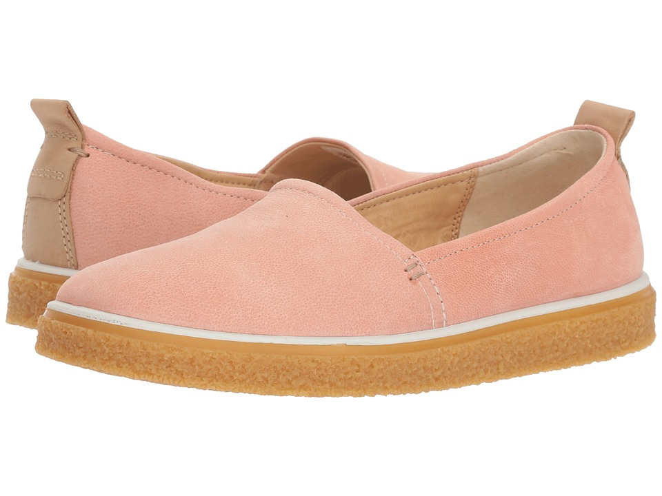 ECCO Crepetray Slip-On (Muted Clay Camel Nubuck) Slip-On Shoes