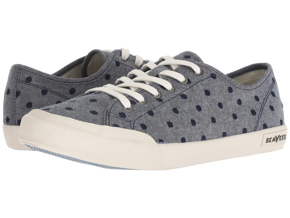 SeaVees Monterey Embroidery (Indigo) Women's Shoes
