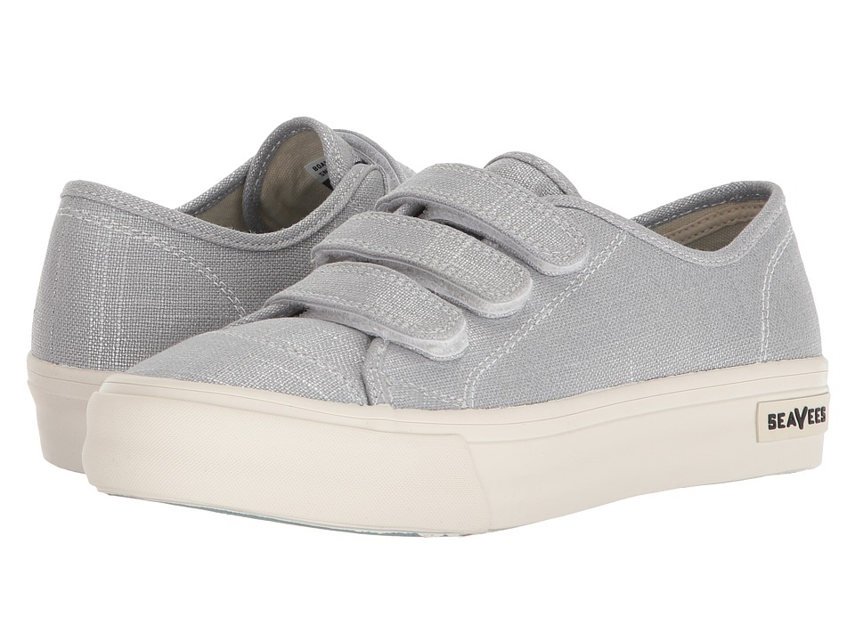 SeaVees Boardwalk Sneaker (Silver) Women's Shoes
