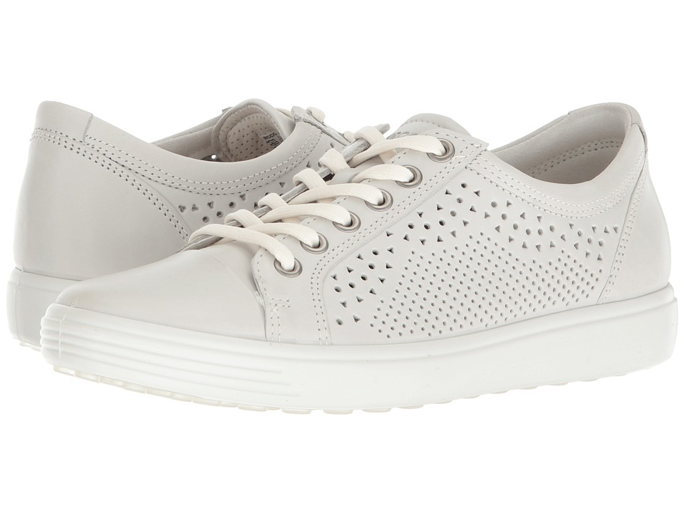 ECCO Soft 7 Trend Tie (Shadow White Cow Leather)