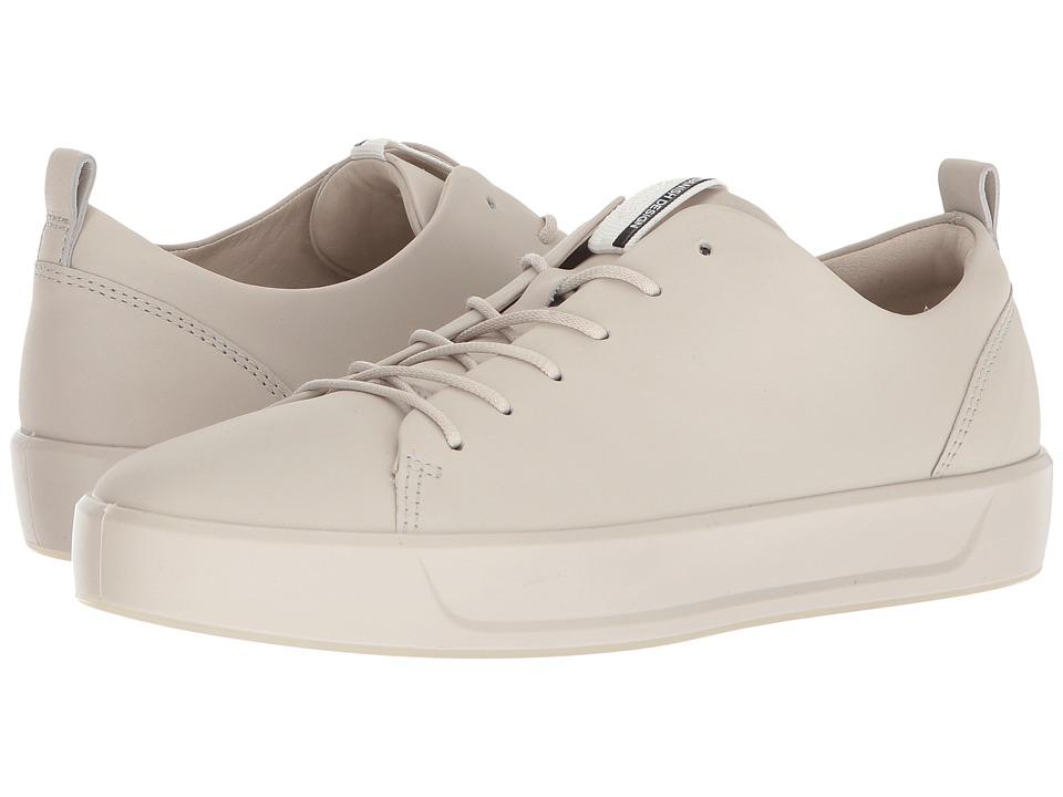 ECCO Soft 8 Sneaker (Gravel Steer Leather)