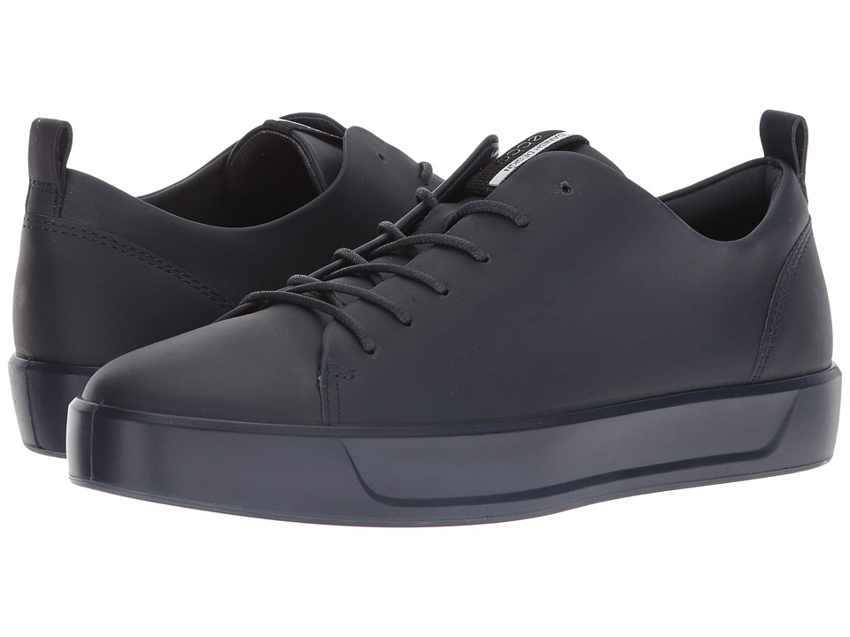 ECCO Soft 8 Sneaker (Night Sky Steers Leather)