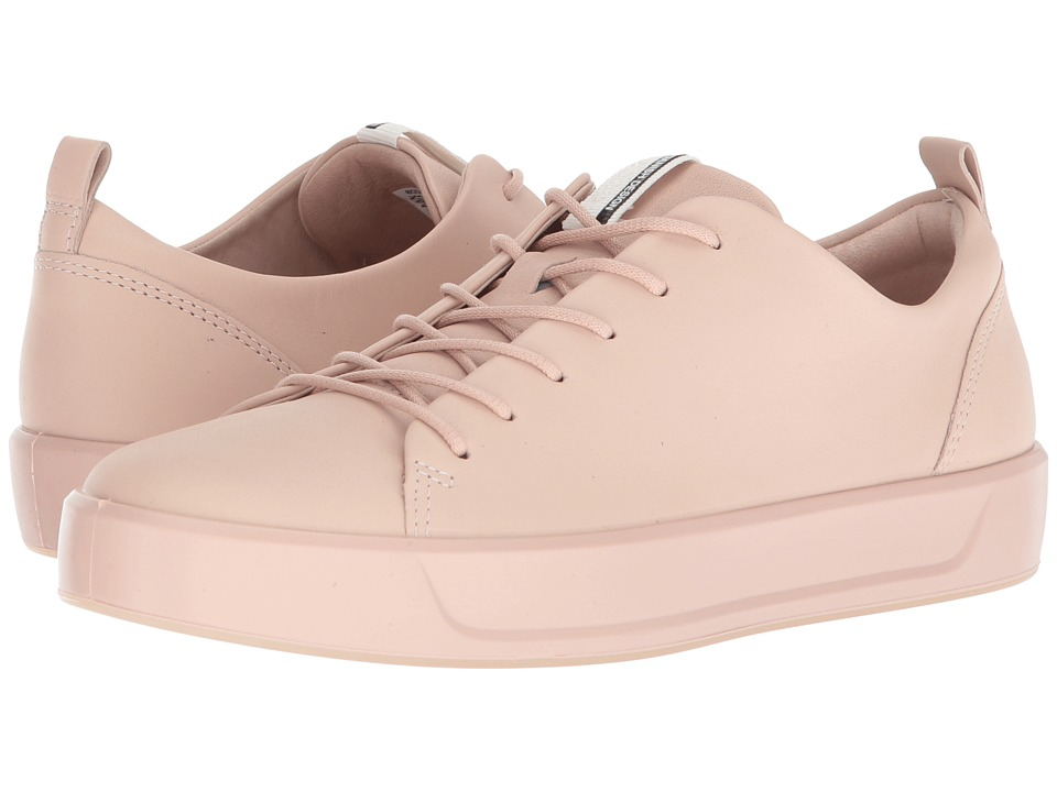 ECCO Soft 8 Sneaker (Rose Dust Steers Leather)