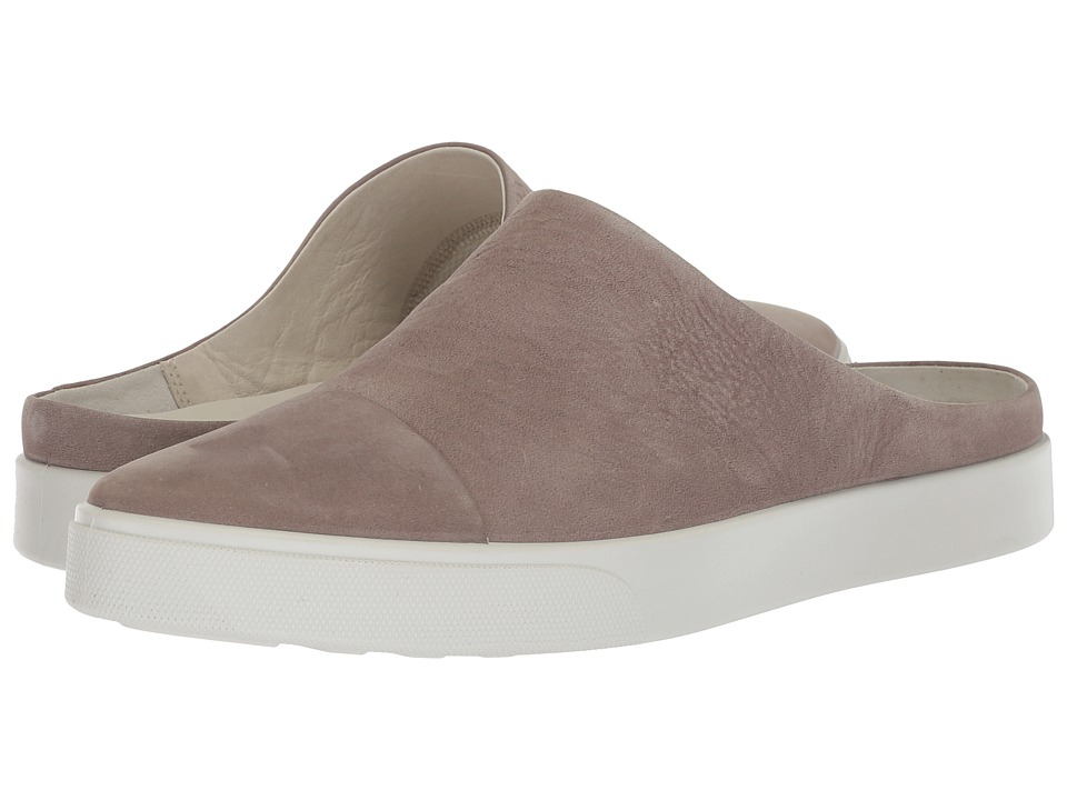 Ecco Gillian Slide (Warm Grey) Women's Shoes