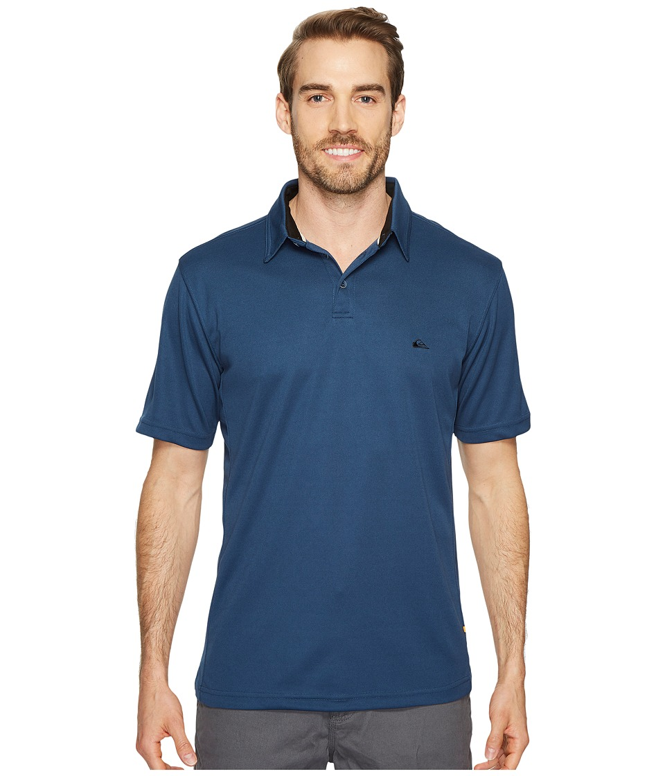 Quiksilver Waterman - Water Polo 2 (Dark Denim) Men's T S...